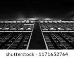 wide angle closeup of pro audio ... | Shutterstock . vector #1171652764