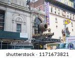 new york  usa  august 18  2018... | Shutterstock . vector #1171673821