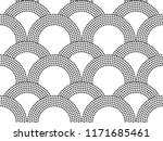 seamless abstract background in ... | Shutterstock . vector #1171685461