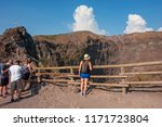 Mount Vesuvius  Italy   August...