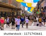 madrid  spain   july 2  2018 ... | Shutterstock . vector #1171743661