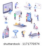 isometric illustration of... | Shutterstock .eps vector #1171770574