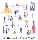 isometric illustration of... | Shutterstock .eps vector #1171770577