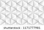 monochrome  dotted seamless... | Shutterstock .eps vector #1171777981