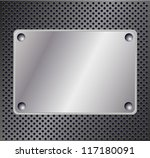 metallic background | Shutterstock . vector #117180091