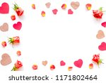 concept of valentine's day with ... | Shutterstock . vector #1171802464