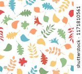 vector seamless pattern of...   Shutterstock .eps vector #1171810561