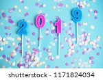 festive holiday new year and... | Shutterstock . vector #1171824034