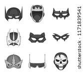 vector illustration of hero and ... | Shutterstock .eps vector #1171839541