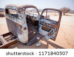 abandoned vintage car wrecks at ... | Shutterstock . vector #1171840507
