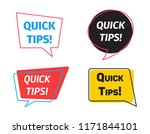 set of quick tips colorful...   Shutterstock .eps vector #1171844101