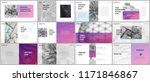 minimal presentations design ... | Shutterstock .eps vector #1171846867