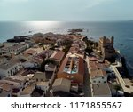 aerial view of famous popular... | Shutterstock . vector #1171855567