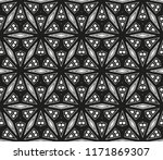 vector seamless pattern  simple ... | Shutterstock .eps vector #1171869307