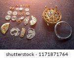watchmaker's workshop  watch... | Shutterstock . vector #1171871764
