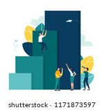vector illustration  concept of ... | Shutterstock .eps vector #1171873597