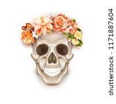 vector dia de los muertos... | Shutterstock .eps vector #1171887604