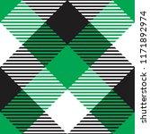 seamless diagonal black white... | Shutterstock .eps vector #1171892974