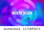 vector minimalistic colorful... | Shutterstock .eps vector #1171895671
