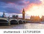 city of london  westminster ... | Shutterstock . vector #1171918534