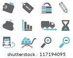 internet and website icons | Shutterstock .eps vector #117194095