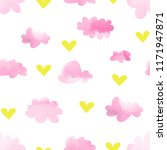 seamless vector pattern of... | Shutterstock .eps vector #1171947871