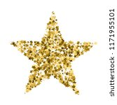 golden star vector banner.... | Shutterstock .eps vector #1171955101