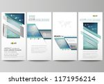 the minimalistic abstract... | Shutterstock .eps vector #1171956214