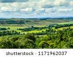beautiful hills and fields of... | Shutterstock . vector #1171962037