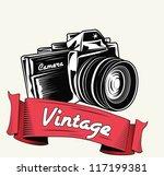 Retro Camera With Vignette
