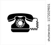 telephone icon  phone vector... | Shutterstock .eps vector #1172029831