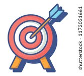 target icon image | Shutterstock .eps vector #1172031661