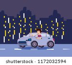 car and city design | Shutterstock .eps vector #1172032594