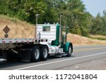 professional big rig day cab... | Shutterstock . vector #1172041804