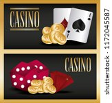 casino game design | Shutterstock .eps vector #1172045587