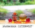 Safflower   Oil  In  Glass ...