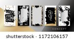 creative card  invitation ...   Shutterstock .eps vector #1172106157
