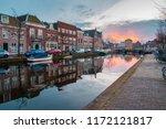 leiden  netherlands   april 4 ... | Shutterstock . vector #1172121817