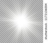 illustration of the light of a... | Shutterstock .eps vector #1172136004