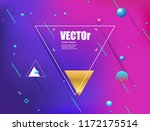 abstract gradients geometric... | Shutterstock .eps vector #1172175514