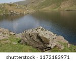 glacially excavated small water ... | Shutterstock . vector #1172183971