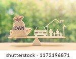 family financial management ... | Shutterstock . vector #1172196871