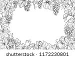 monochrome rectangle horizontal ... | Shutterstock .eps vector #1172230801