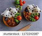 homemade japanese cuisine  ... | Shutterstock . vector #1172242087