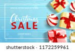 beautiful banner for christmas... | Shutterstock .eps vector #1172259961
