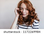 close up shot of refined ginger ... | Shutterstock . vector #1172269984