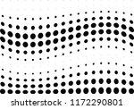 abstract halftone wave dotted... | Shutterstock .eps vector #1172290801