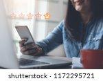 online feedback rating concept. ... | Shutterstock . vector #1172295721