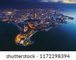 wonderful view of kuwait city... | Shutterstock . vector #1172298394