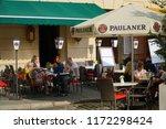 cracow krakow poland   31... | Shutterstock . vector #1172298424